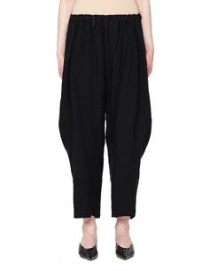 Укороченные льняные брюки Yohji Yamamoto