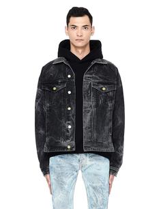 Серая джинсовая куртка Sevedge Denim Fear Of God