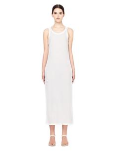 Белое платье-майка The Row