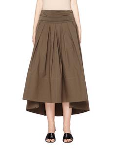 Хлопковая юбка с защипами Urban Zen