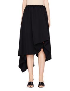 Асимметричная шерстяная юбка Yohji Yamamoto