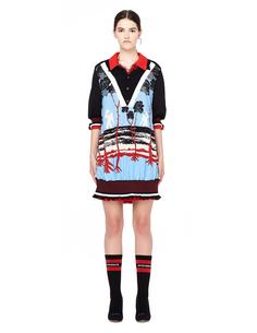 Двустороннее платье с воротником-поло Undercover
