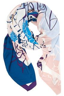 Платок из вискозы и шелка Eleganzza