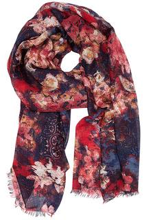 Палантин с цветочным принтом Sophie Ramage