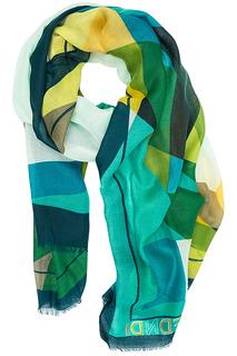 Палантин с геометричным принтом Sophie Ramage