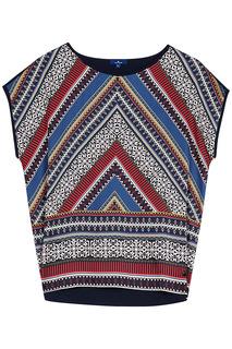 Блузка с геометричным принтом Tom Tailor