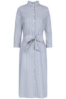 Длинное платье-рубашка Tom Tailor
