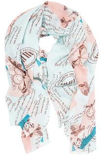 Палантин с нежным рисунком Sophie Ramage