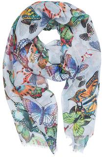 Палантин с бабочками Labbra