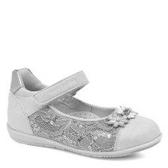Туфли NERO GIARDINI JUNIOR P820000F серебристо-серый