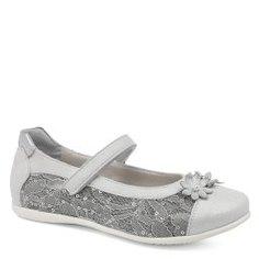 Туфли NERO GIARDINI JUNIOR P830000F серебристо-серый