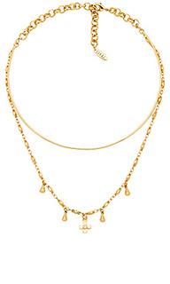 Ожерелье cosmic cross tie - Luv AJ
