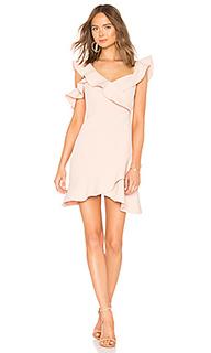 Асимметричное платье - BCBGMAXAZRIA