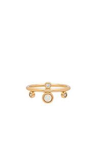 Кольцо dotted gem - Elizabeth Stone