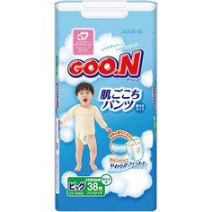 Подгузники-трусики Goon, XL 12-20 кг, для мальчиков, 38 шт.