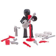 Фигурка с аксессуарами Стиль жизни, Stikbot, серый Zing