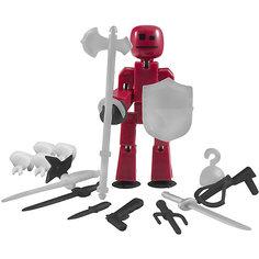 Фигурка с аксессуарами Оружие, Stikbot, черное Zing