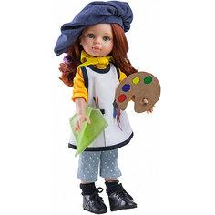 "Кукла Paola Reina ""Кристи художница"", 32 см"