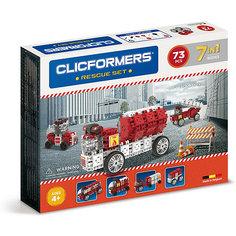 Конструктор CLICFORMERS Rescue set 73 детали