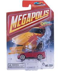 Машинка Autotime, Color Twisters Water Chameleon, металлическая, бордовый