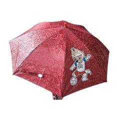 Зонт Mary Poppins FIFA-2018 67 см, красный