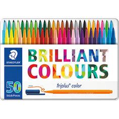 Набор фломастеров Triplus Color, 50 цветов, 1 мм, Staedtler