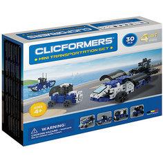 Конструктор CLICFORMERS  Transportation set mini 30 деталей