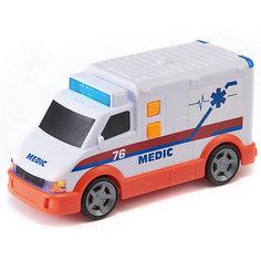 """Машинка HTI """"Roadsterz"""" Скорая помощь, 15 см"""