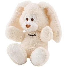 Мягкая игрушка Trudi Заяц Вирджилио 26 см, кремовый
