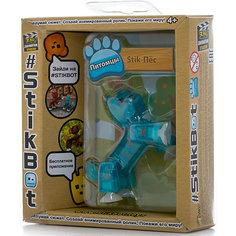 Фигурка питомца Собака, синяя, Stikbot Zing