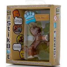 Фигурка питомца Собака, коричневая, Stikbot Zing