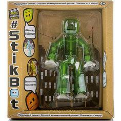 Игрушка-фигурка, зеленая, Stikbot Zing