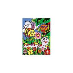 """Картина по номерам для малышей Royal&Langnickel """"Весёлые жучки"""", 22,5х29,8 см Royal&Langnickel"""