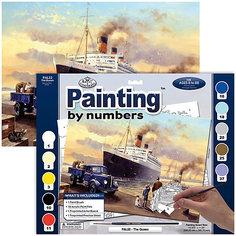"""Картина по номерам Royal&Langnickel """"Отплытие королевы"""", 28,5х35 см Royal&Langnickel"""