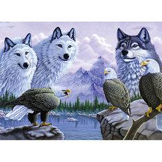"Картина по номерам Royal&Langnickel ""Волки"", 28,5х35 см Royal&Langnickel"