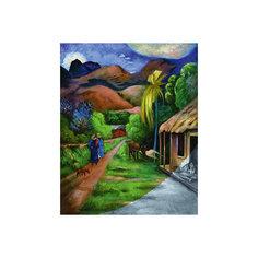 """Картина по номерам на холсте Гризайль Royal&Langnickel """"Горная дорога"""", 28х35 см Royal&Langnickel"""