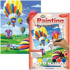 """Картина по номерам Royal&Langnickel """"Воздушные шары"""", 22х29 см Royal&Langnickel"""