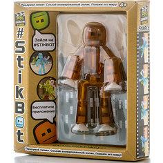 Игрушка-фигурка, коричневая, Stikbot Zing