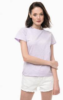 Сиреневая хлопковая футболка Levis®
