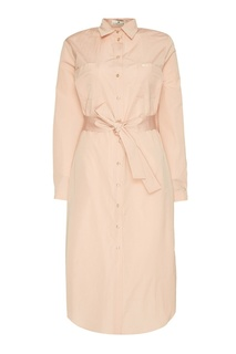 Платье-рубашка из хлопкового микса Laroom