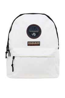 Белый текстильный рюкзак Napapijri