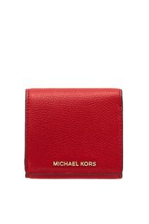 Красный кошелек для монет Money Pieces Michael Kors