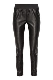 Черные брюки с широким поясом Stella Mc Cartney