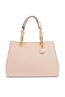 Розовая сумка Cynthia с декоративными ручками Michael Kors