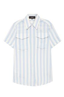 Рубашка в полоску Rochas