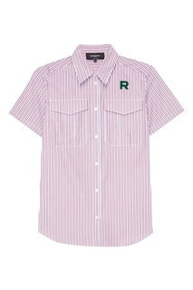 Рубашка с вышивкой Rochas