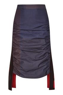 Юбка с крупными вставками Stella Mc Cartney