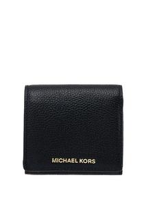 Маленький черный кошелек Money Pieces Michael Kors