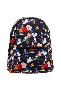 Текстильный рюкзак с ярким принтом Paul & Joe Sister