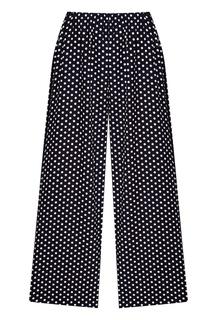 Черные брюки в горох Blank.Moscow